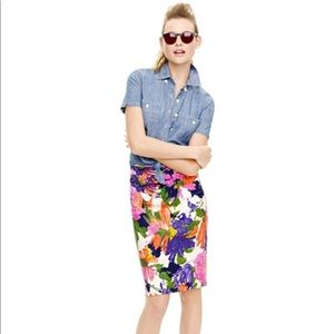 The pencil skirt by J.Crew